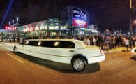 Limo at Xfinity Live