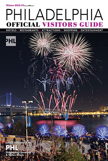 Philadelphia Official Visitors Guide - Winter 2019 edition